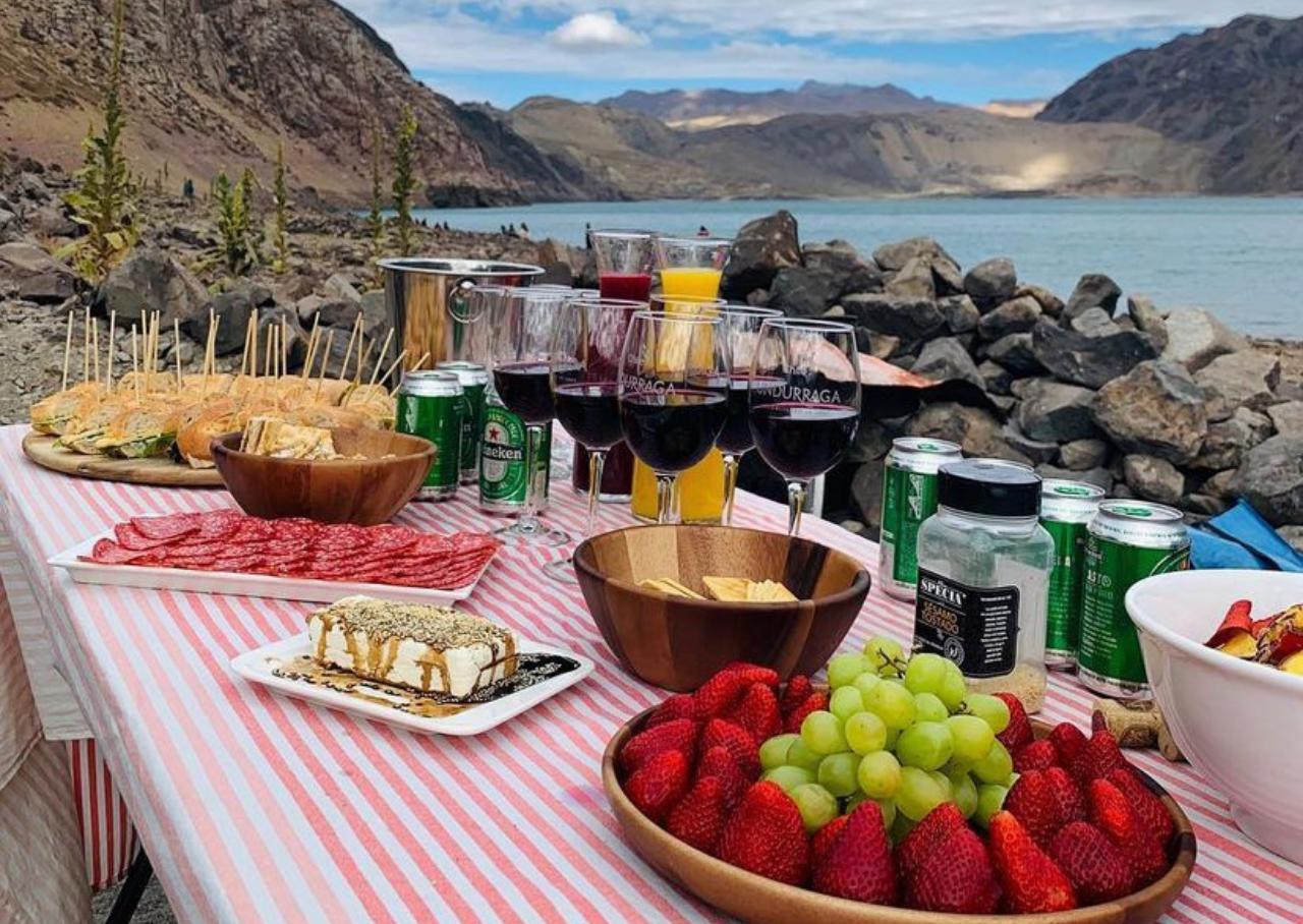 3 tipos de refeições inclusas nos passeios da Sousas Tour Chile